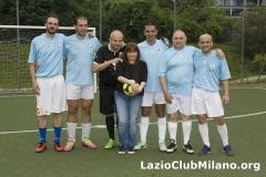 Lazio Club Milano (8 Lo Sardo 2 Magnante 1 Tosi Patty 16 Maggioli 6 Checchia 3 Caboni)
