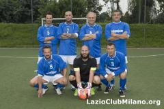 Glorie Biancocelesti (5 Pittella 7 Inselvini P  6 Malco 10 Farris  8 Manservisi S  Santonico Portiere 3 Tripodi)