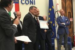 Premiazione di Angelo Peruzzi per il campionato del mondo vinto nel 2006.