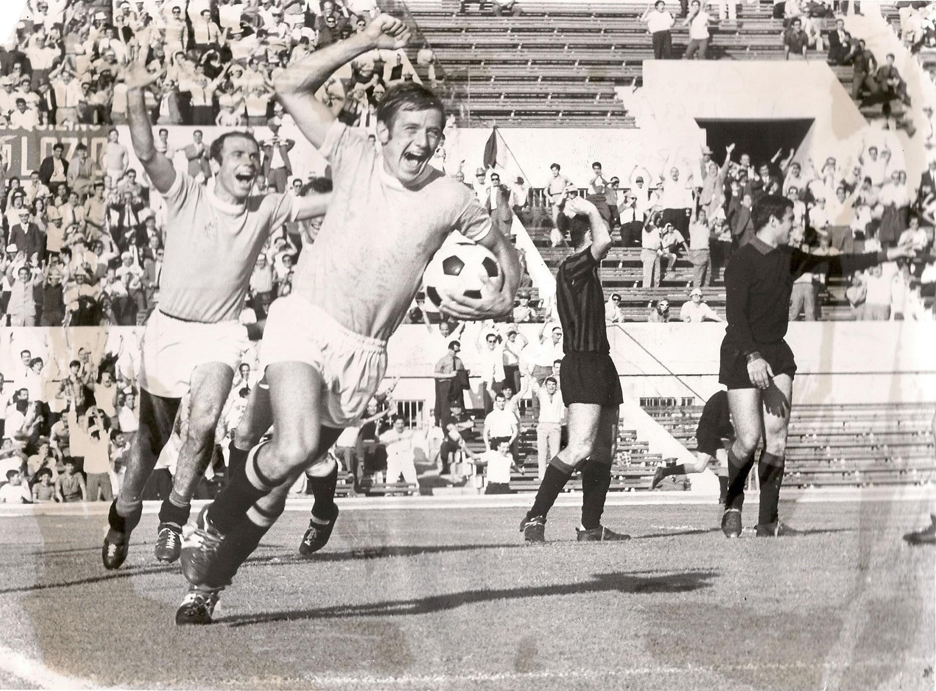 Lazio-Foggia 67/68 con Fava